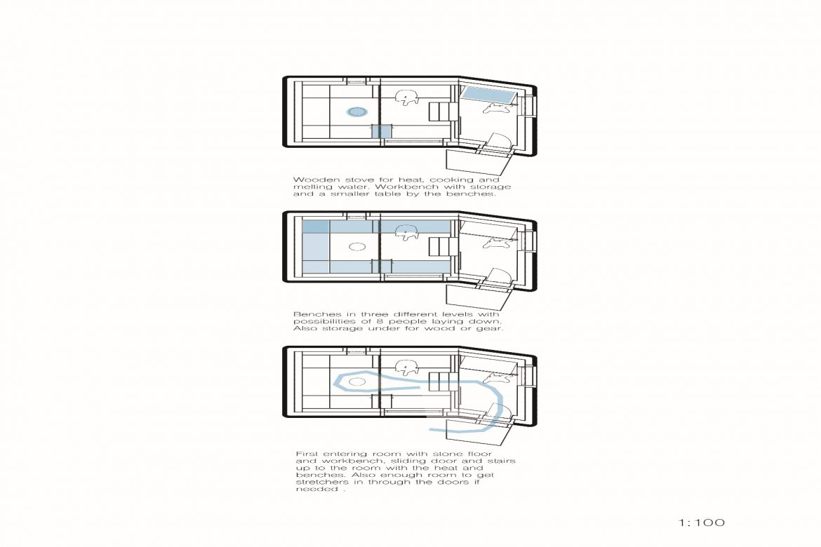 Diagrams of shelter