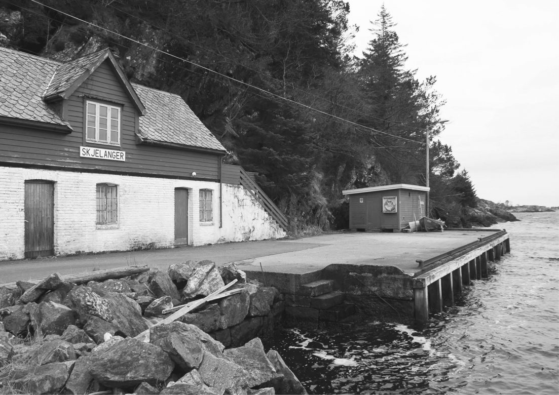 The old diary and former steamship port of Skjelanger