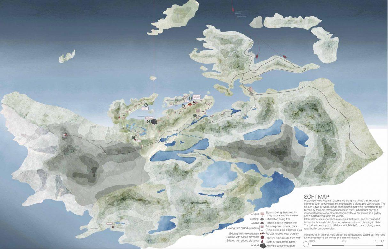 Map of Langnes