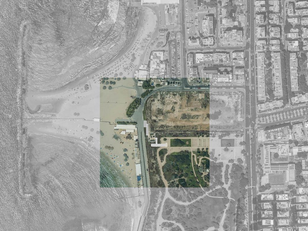 Site plan with adjacent surroundings