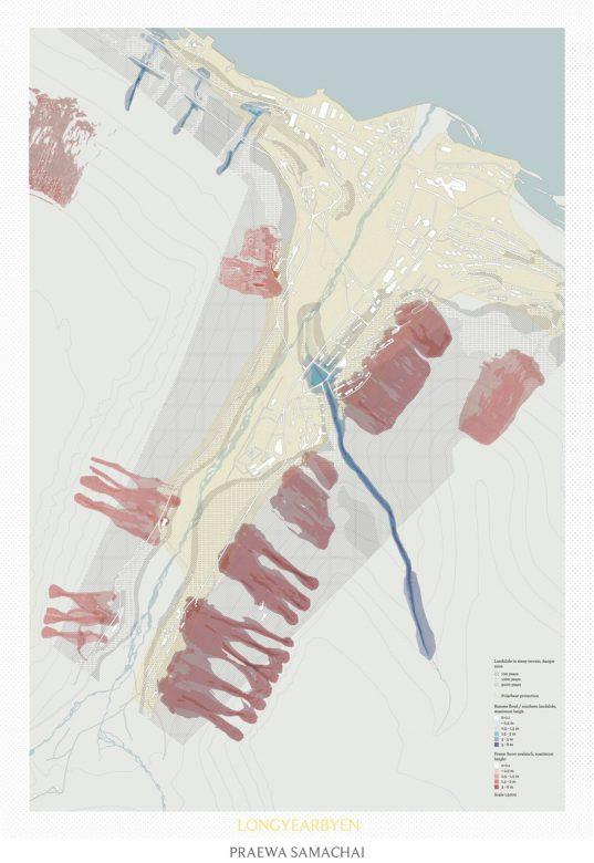 Danger zone map (Landslide,Flood,Snow Avalanche)