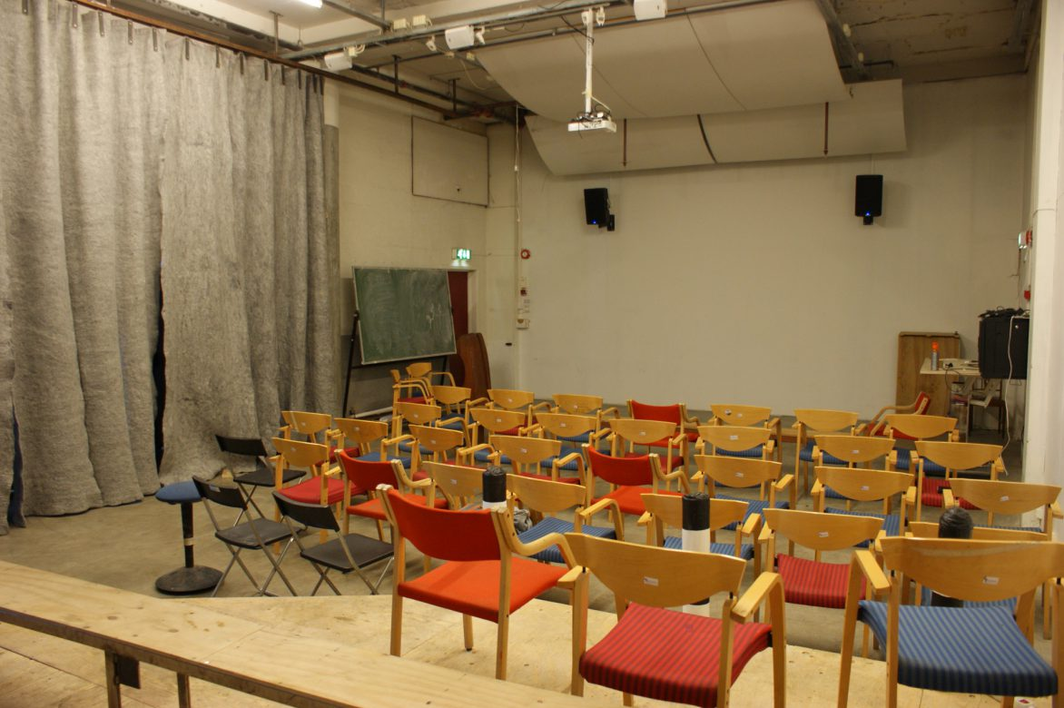large lecture room