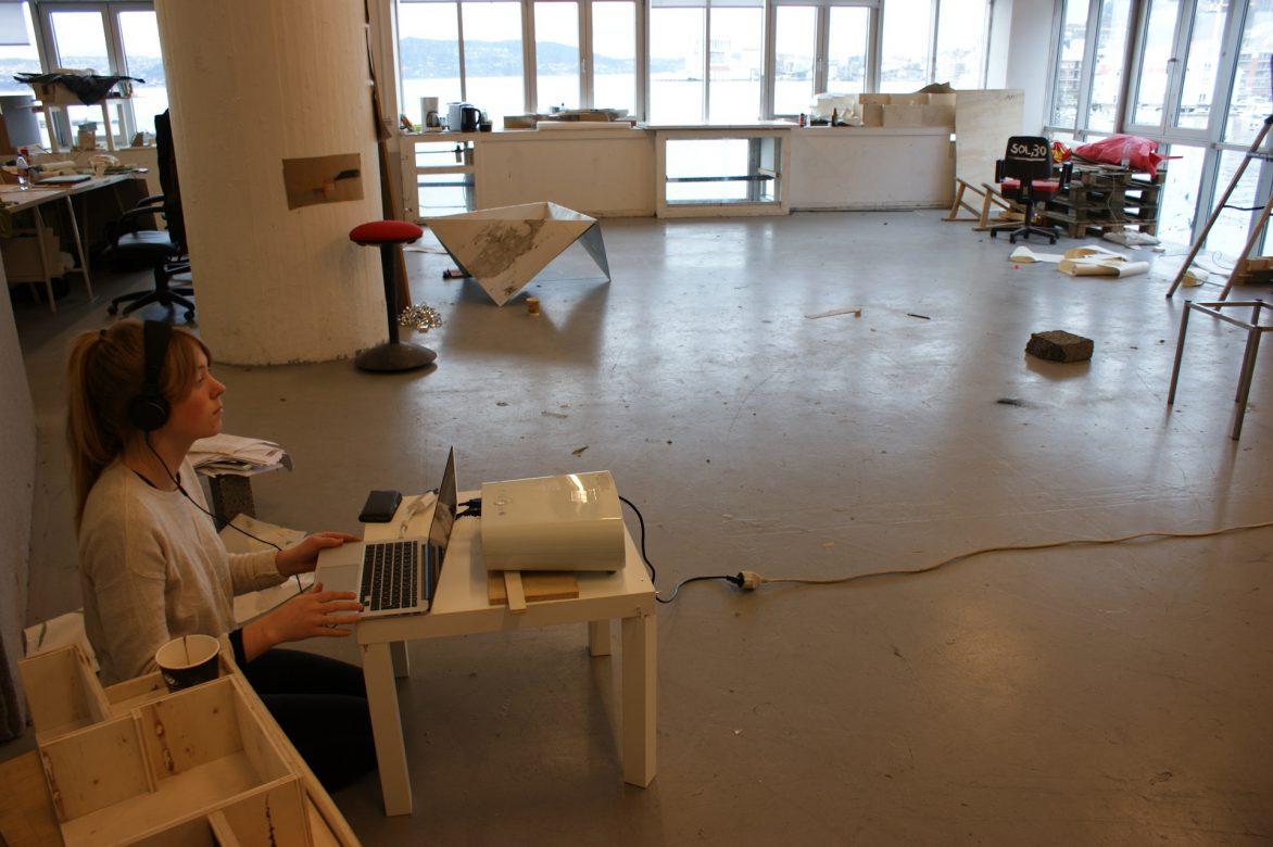 large studio 1st floor