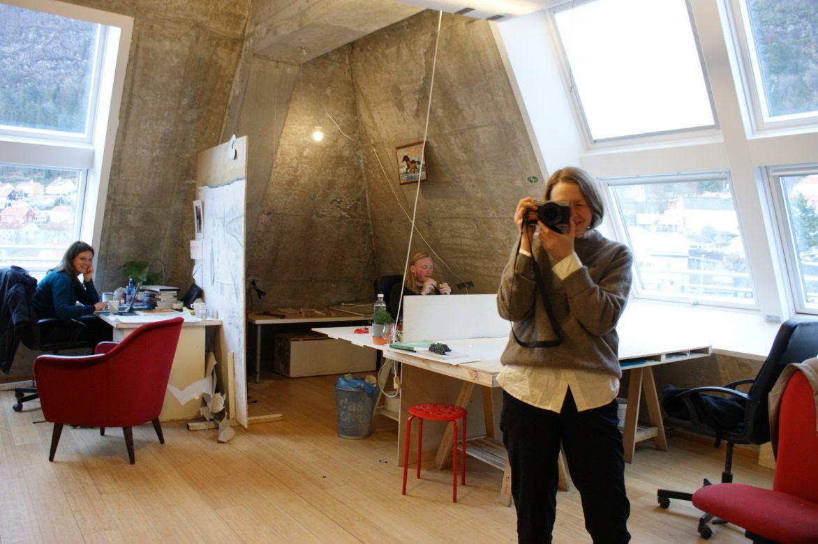 the upper studio, masterclass