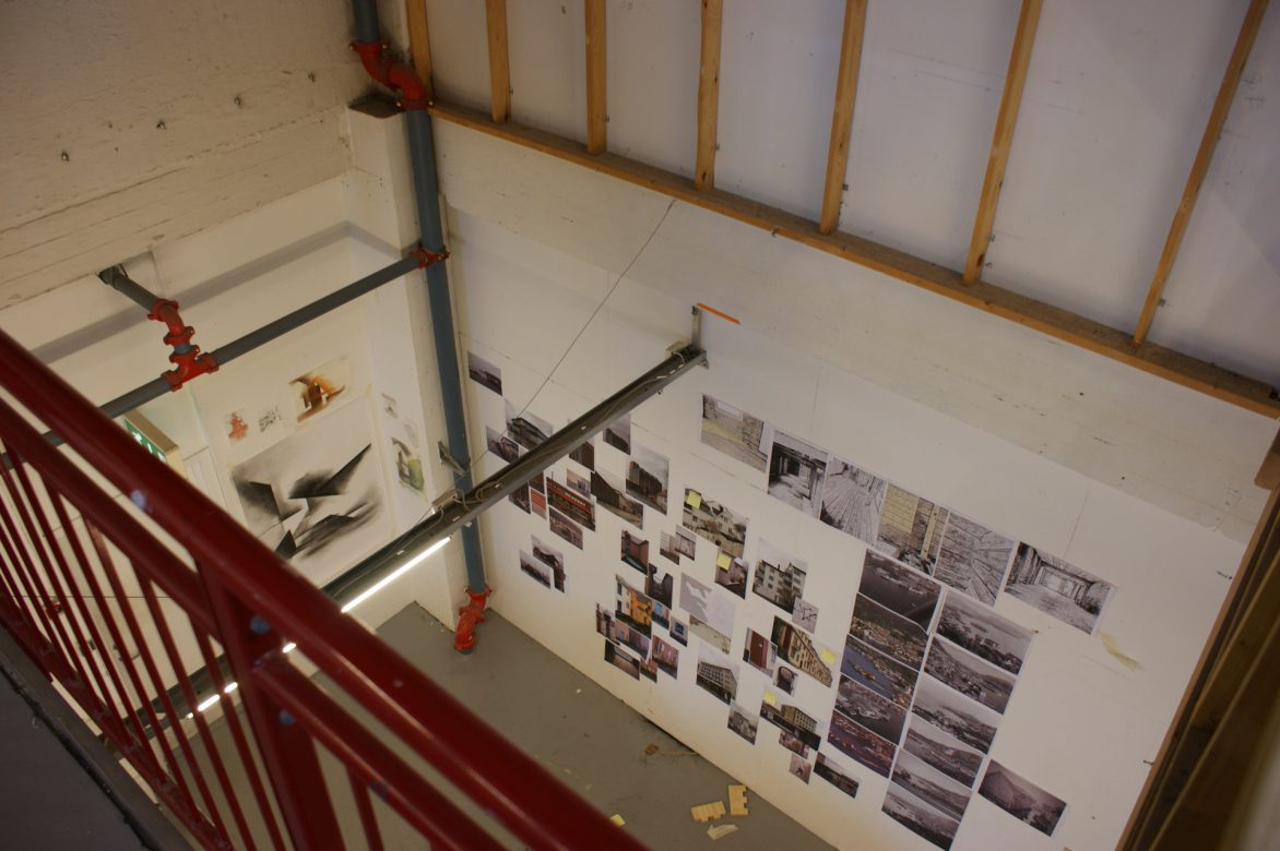 the studio at the 2nd floor