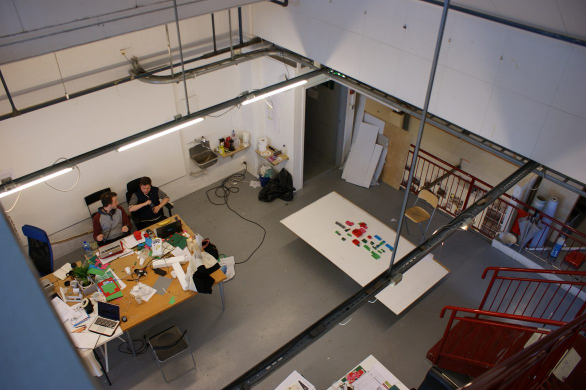 studio 2nd floor