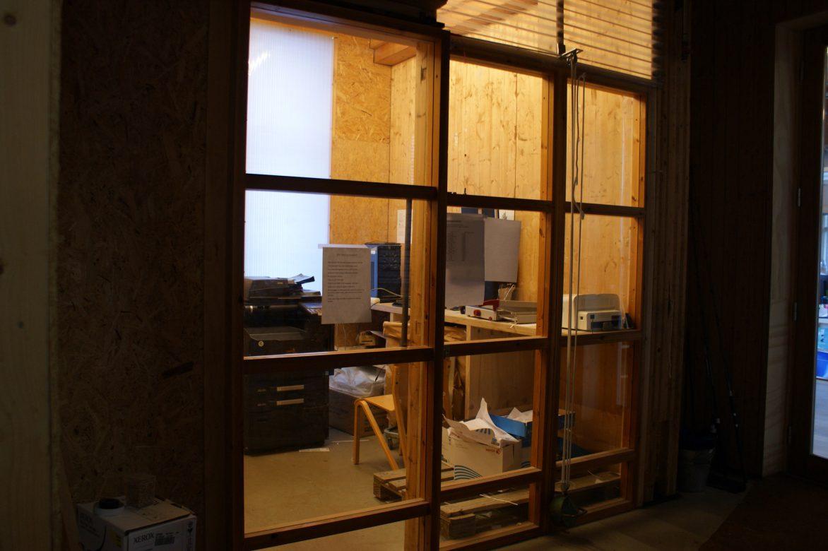outside copy room