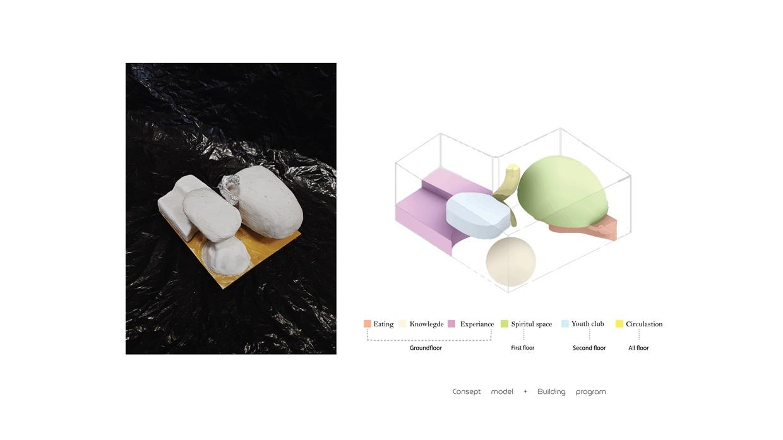 Concept model + Building program