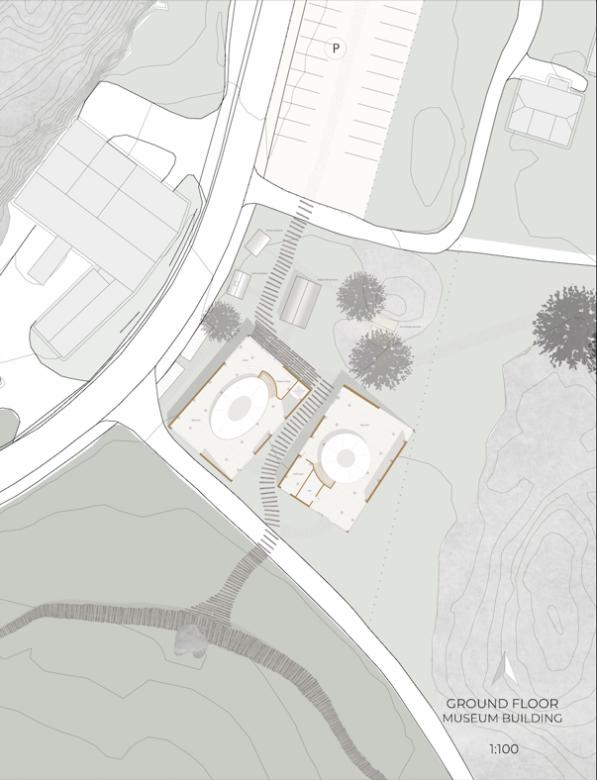 Museum first floor plan