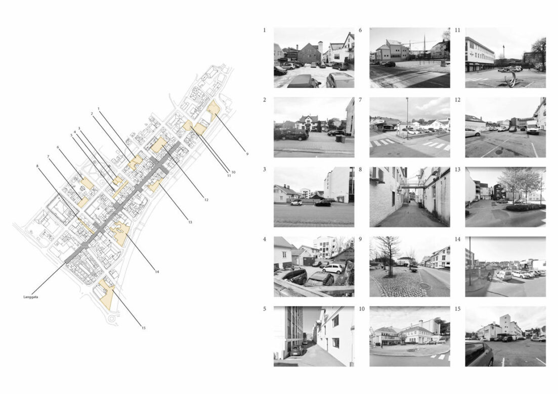 15 registered 'blind spaces' out of which 5 turned into 3 subprojects