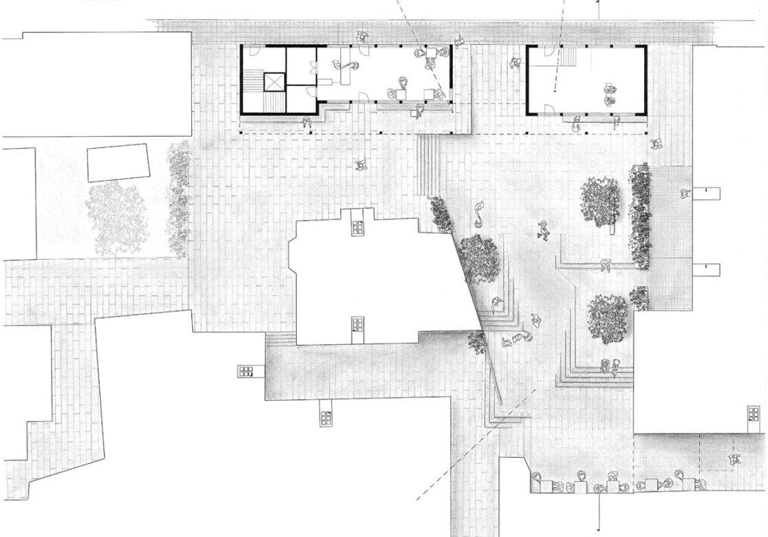The Backyard. Plan drawing
