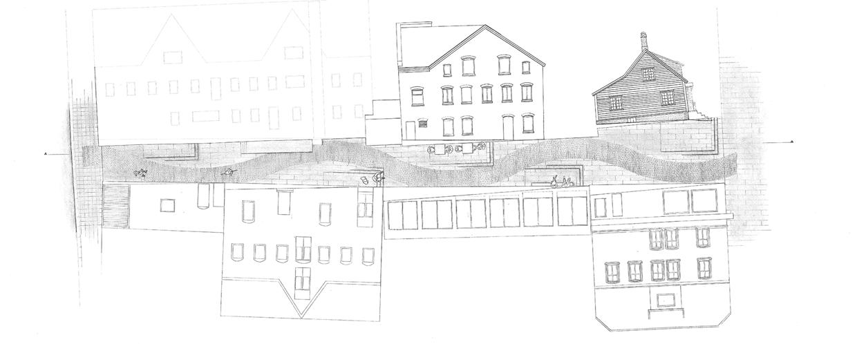 The Alley. Plan drawing