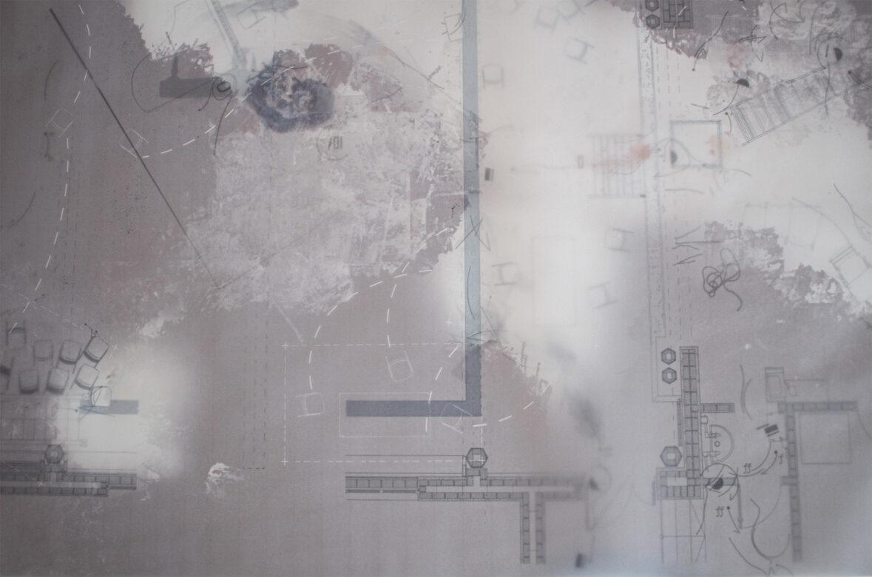 Section of documentative floor plan